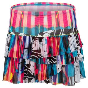 Women`s Urban Mesh Pleated Scallop Tennis Skirt