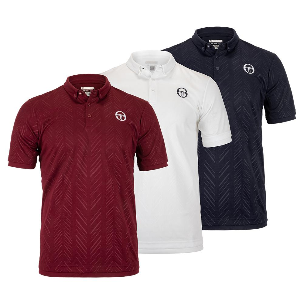 Men's Chevron Tennis Polo