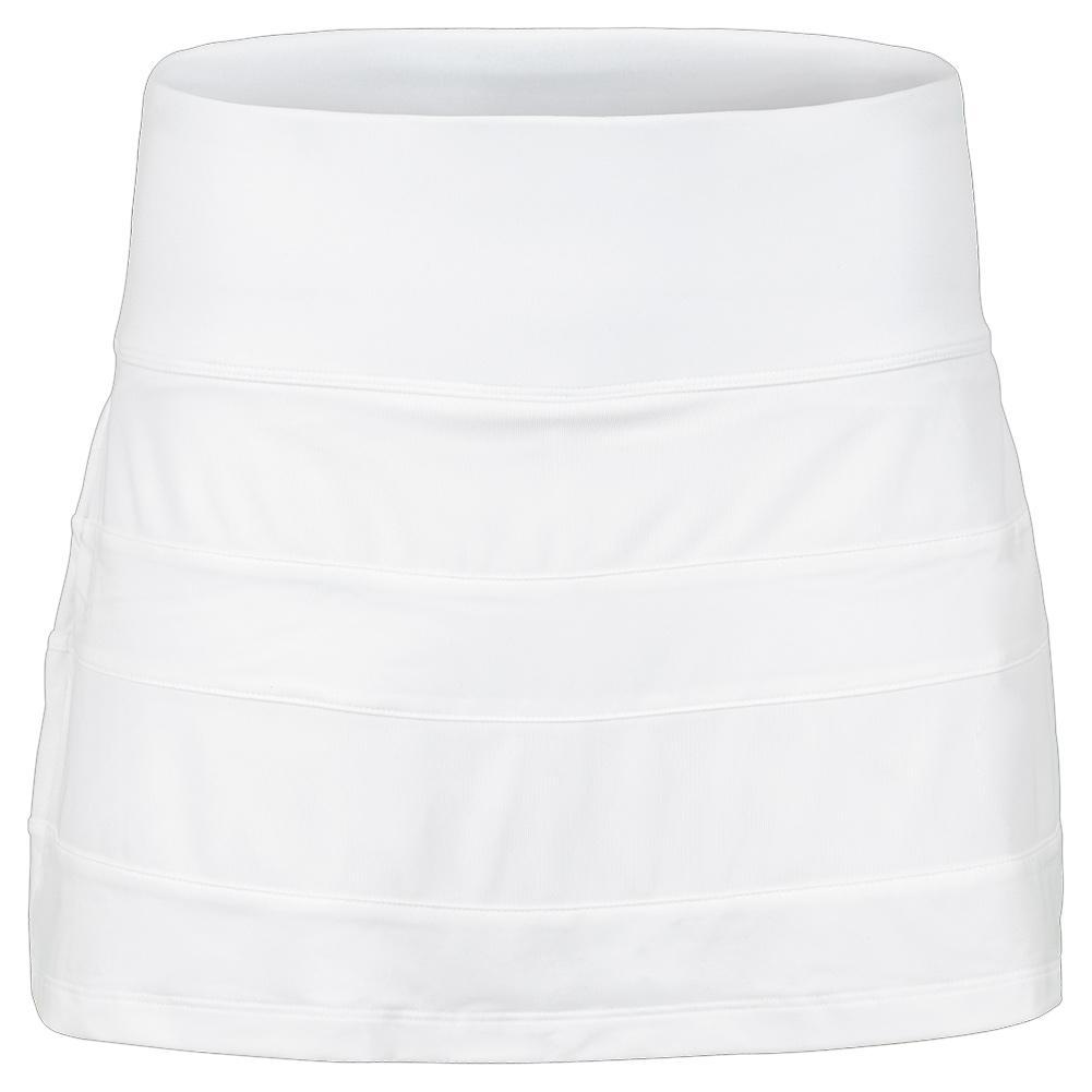 Women's White Line Call A- Line 13.5 Inch Tennis Skort