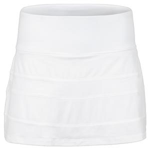 Women`s White Line Call A-Line 13.5 Inch Tennis Skort