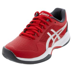 Men`s Gel-Game 7 Novak Tennis Shoes Classic Red and Pure Silver