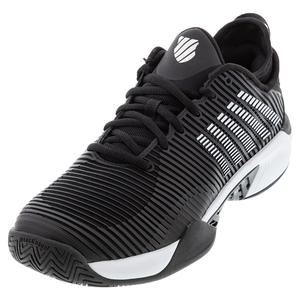 Men`s Hypercourt Supreme Tennis Shoes Black and White