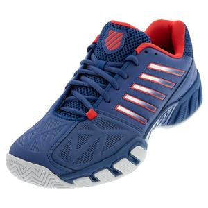 Men`s Bigshot Light 3 Tennis Shoes Dark Blue and Bittersweet