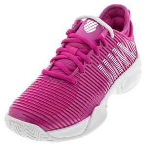 Women`s Hypercourt Supreme Tennis Shoes Cactus Flower and Nimbus Cloud