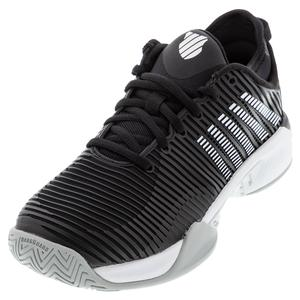 Women`s Hypercourt Supreme Tennis Shoes Black and White