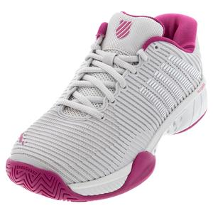 Women`s Hypercourt Express 2 Tennis Shoes Nimbus Cloud and Cactus Flower