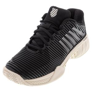 Women`s Hypercourt Express 2 Tennis Shoes Black and Rose Gold
