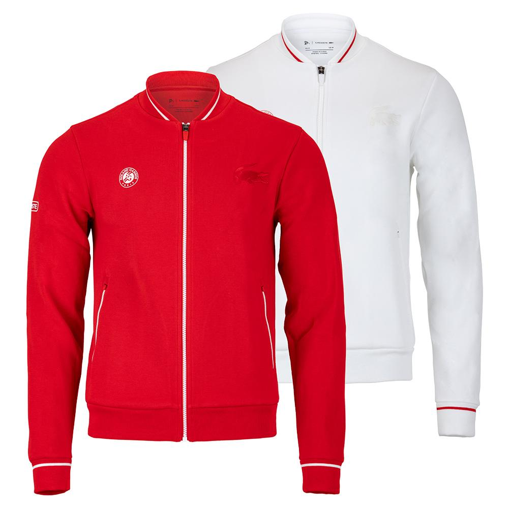 Men's Novak Djokovic Roland- Garros Robert George Croc Tennis Bomber Jacket
