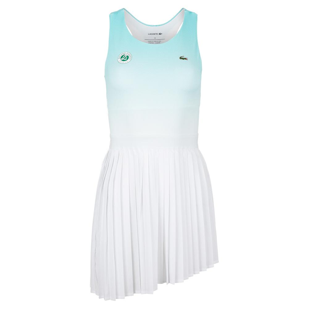 Women's Roland- Garros Sleeveless Ombre Pleated Tennis Dress