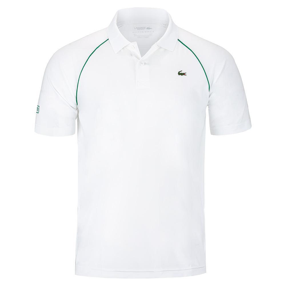 Men's Novak Djokovic Semi Fancy Tennis Polo