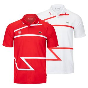 Men`s Novak Djokovic Ultra Dry All Over Print Exploded Croc Tennis Polo