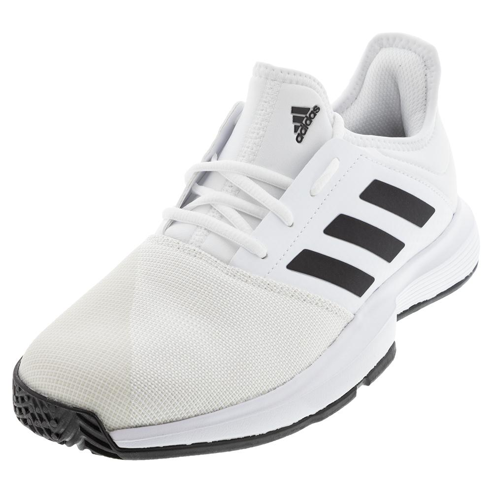 black and white adidas mens shoes