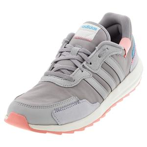 Women`s Retro Run Shoes Light Granite and Gray Two
