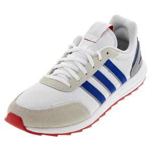 Men`s Retrorun Shoes White and Team Royal