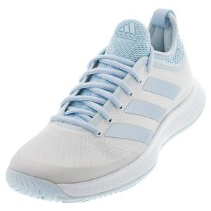 Women`s Defiant Generation Tennis Shoes White and Sky Tint