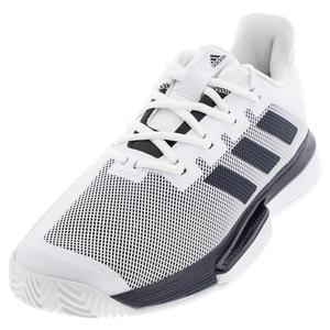 Men`s SoleMatch Bounce Tennis Shoes White and Legend Ink
