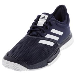 Men`s SoleCourt Boost Tennis Shoes Legend Ink and White