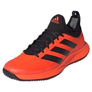 Men`s Defiant Generation Tennis Shoes Solar Red and Black