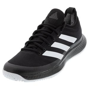 Men`s Defiant Generation Tennis Shoes Black and White