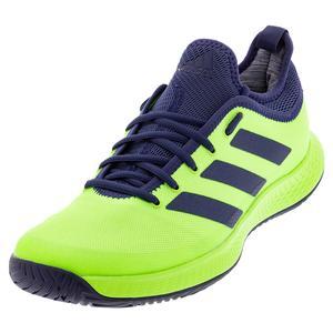 Men`s Defiant Generation Tennis Shoes Signal Green and Tech Indigo