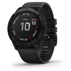 Fenix 6X Pro Watch Black with Black Band