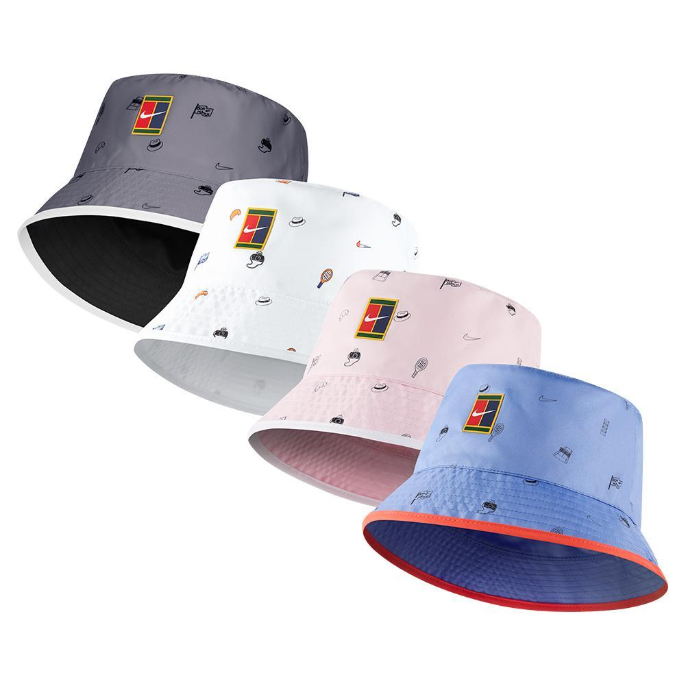 Court Rg All Over Print Tennis Bucket Hat