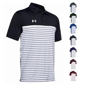 Men`s Stripe Mix-Up Polo
