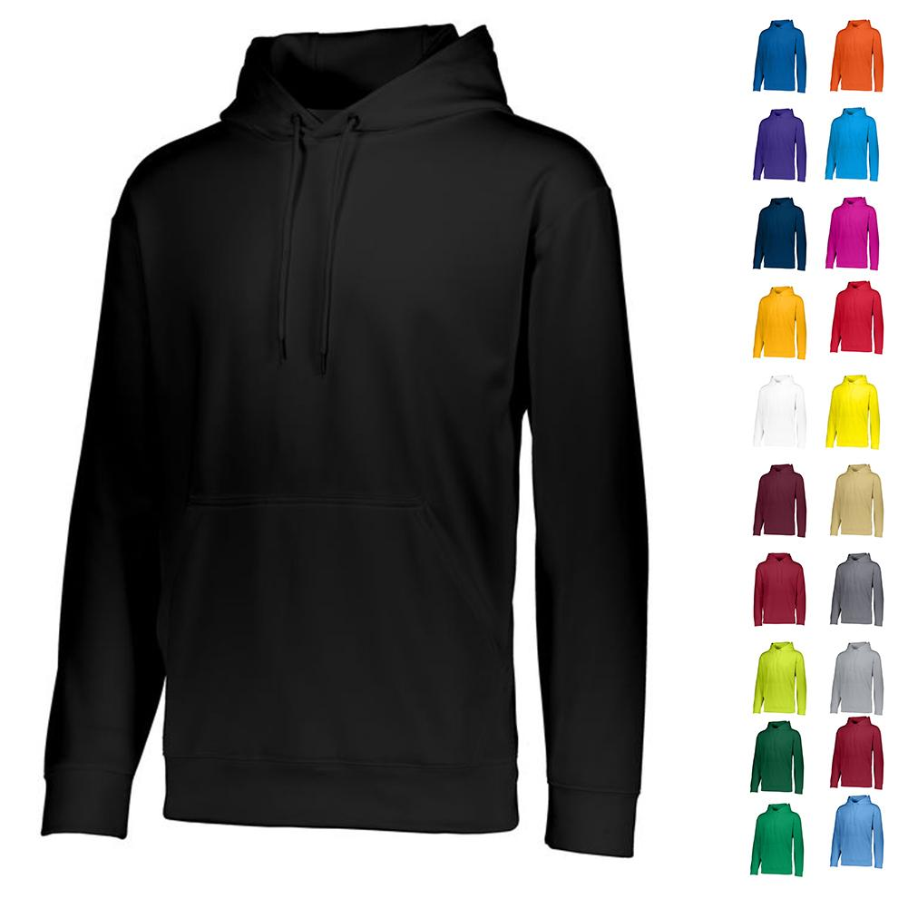 Youth Wicking Fleece Hoodie