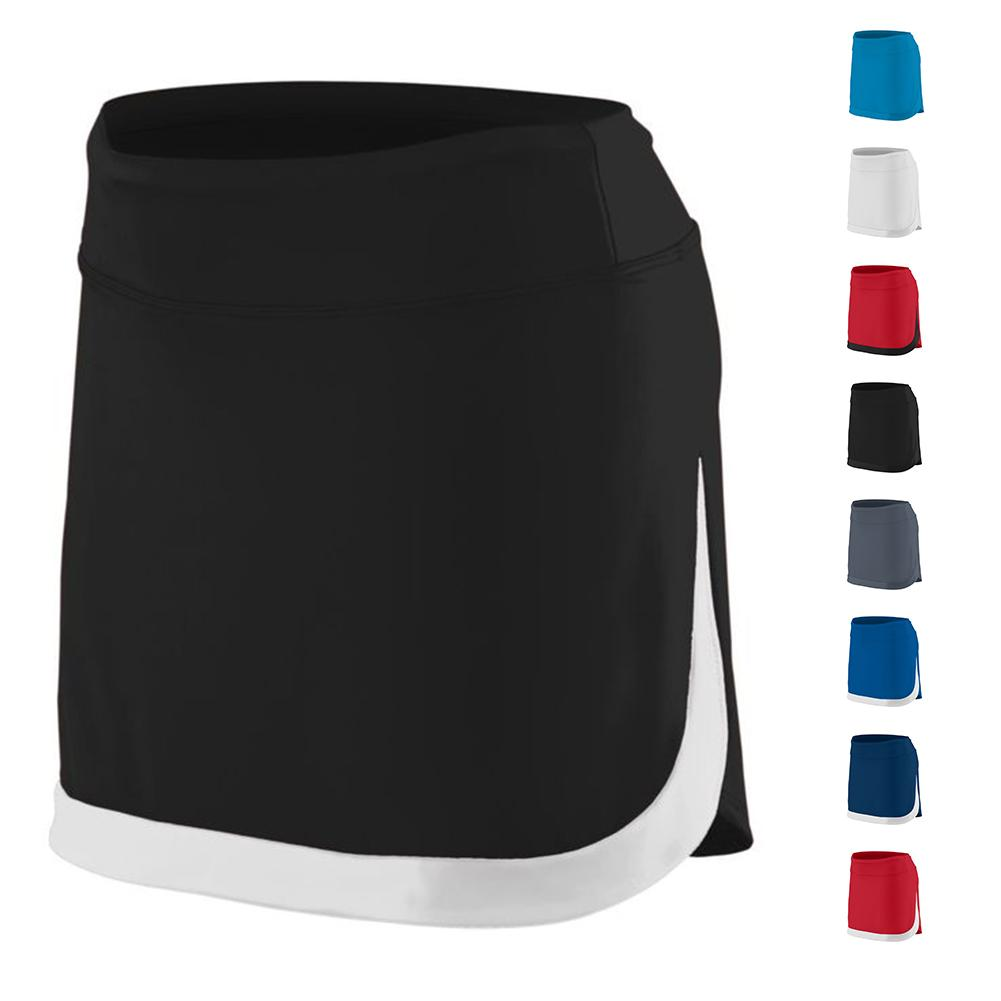 Girls ` Action Color Block Skort
