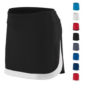Girls` Action Color Block Skort