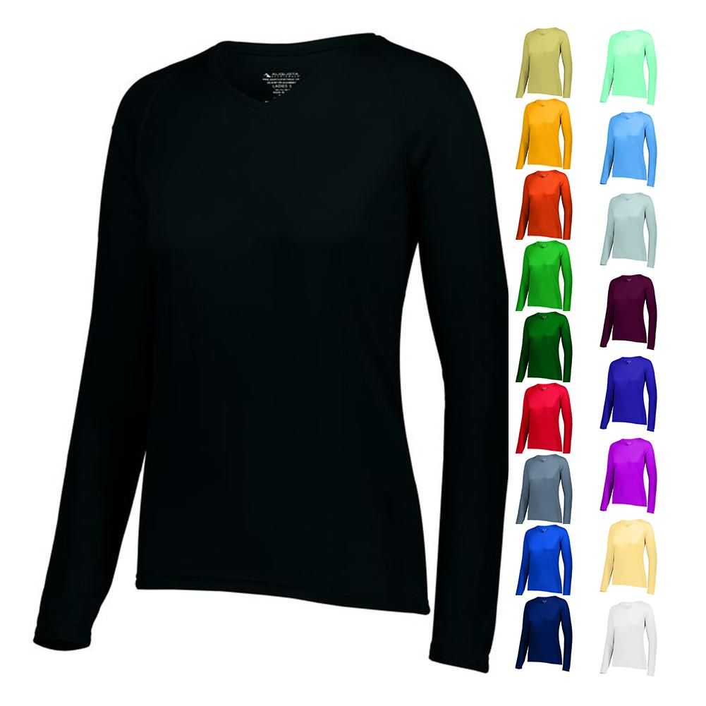Women's Attain Wicking Ls Tee