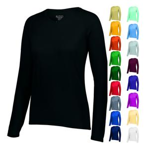 Women`s Attain Wicking LS Tee