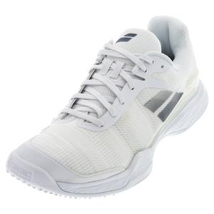 Men`s Jet Mach II Grass Tennis Shoes White and Estate Blue