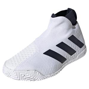 Men`s Stycon Tennis Shoes White and Legend Ink