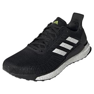 Men`s Solar Boost 19 Running Shoes Black and White