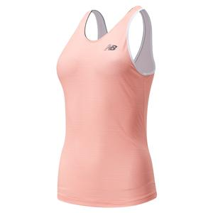 Women`s Rally Court Tennis Tank Print