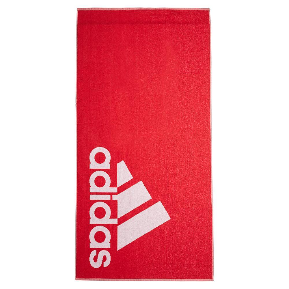 Large Logo Towel Collegiate Red
