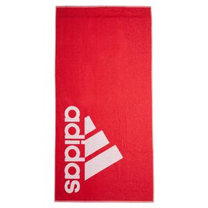 Large Logo Towel Collegiate Red