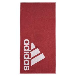 Small Logo Towel Legacy Red and White