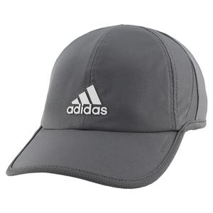 Men`s SuperLite Tennis Cap Grey Six and Silver