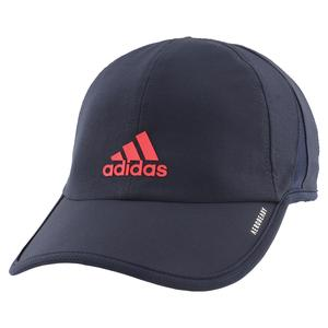 Men`s SuperLite Tennis Cap Legend Ink and Scarlet