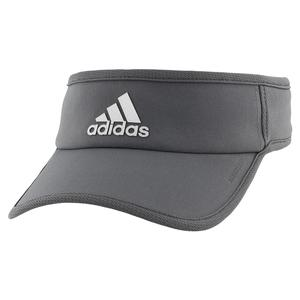 Men`s SuperLite Tennis Visor Grey Six and Silver