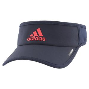 Men`s SuperLite Tennis Visor Legend Ink and Scarlet