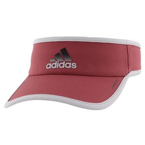 Men`s SuperLite Tennis Visor Legacy Red and Glory Grey
