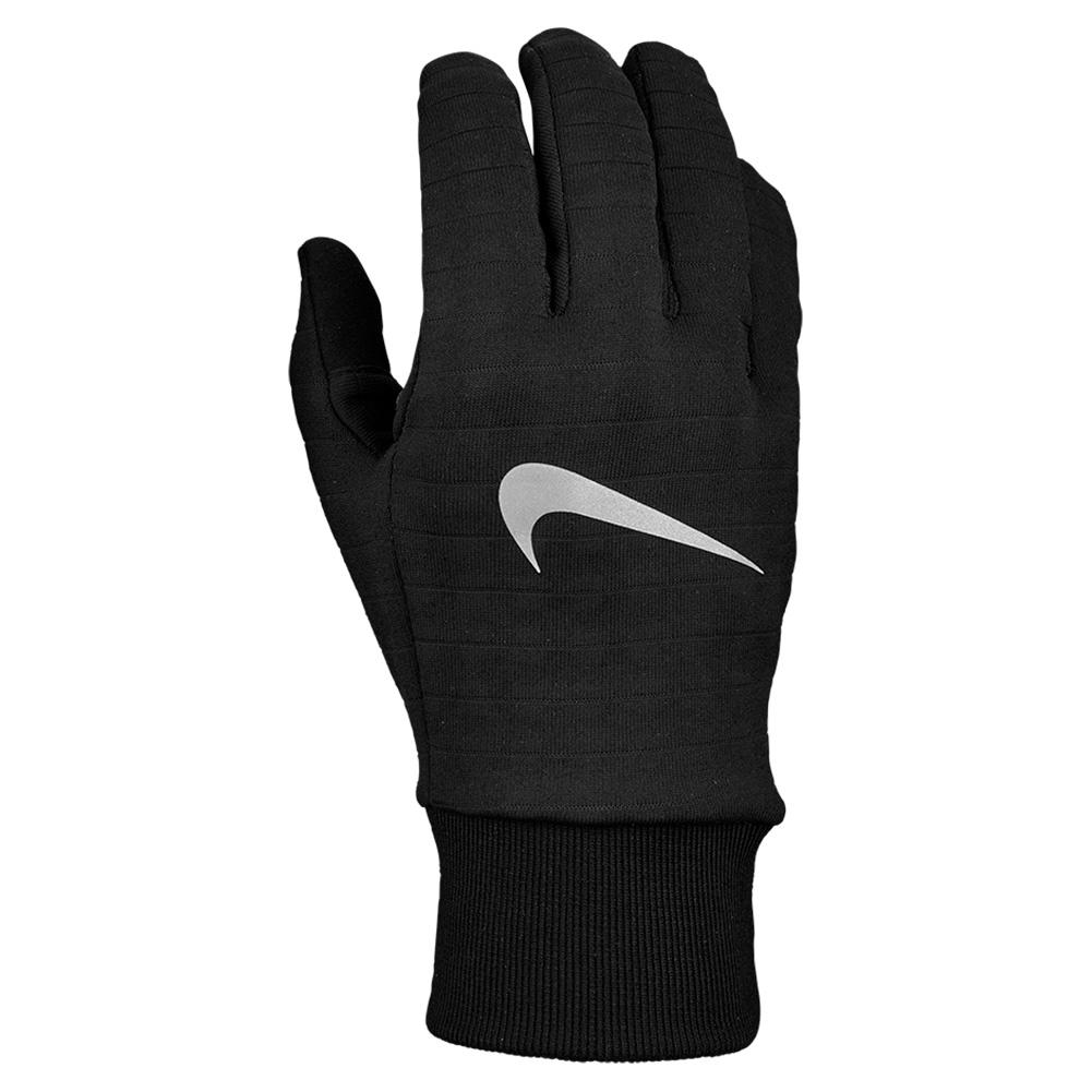 Men's Sphere Gloves Black And Silver