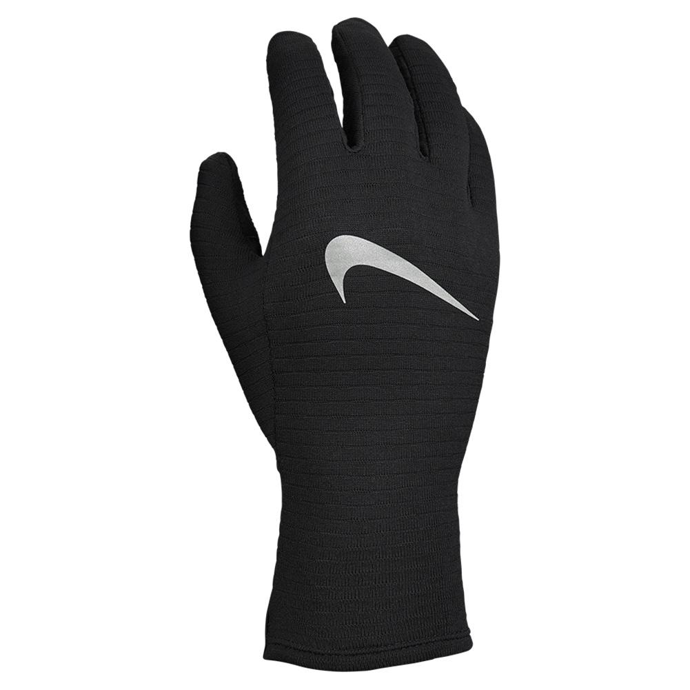 Women's Sphere Gloves Black And Silver