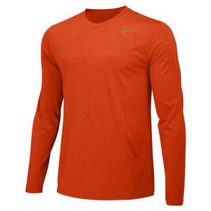 Boys` Legend Training Top University Orange and Cool Grey