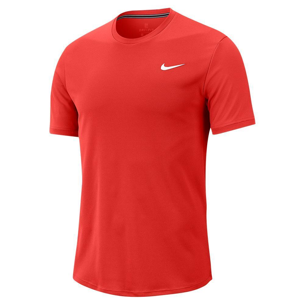 Men's Court Dry Colorblock Short Sleeve Tennis Top