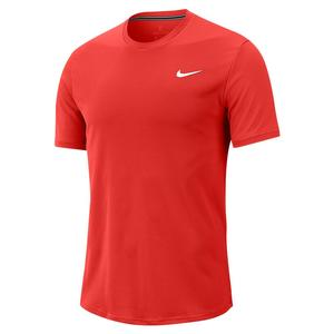 Men`s Court Dry Colorblock Short Sleeve Tennis Top