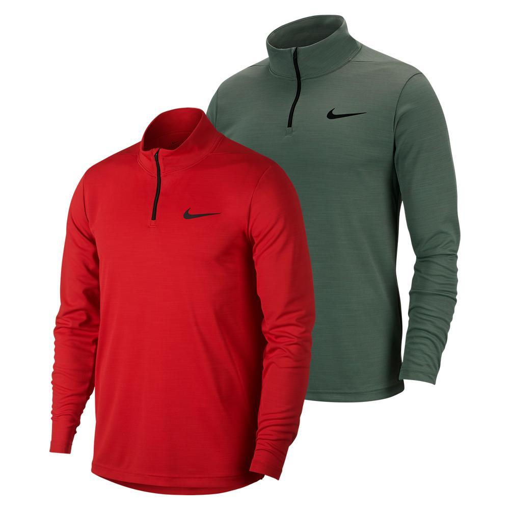 Men's Superset Long- Sleeve 1/4- Zip Training Top